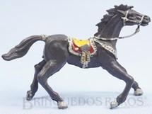 1. Brinquedos antigos - Casablanca e Gulliver - Cavalo de Cowboy Cinza escuro