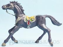 Brinquedos Antigos - Casablanca e Gulliver - Cavalo de Cowboy cinza escuro Casablanca numerado 4