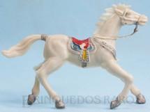 Brinquedos Antigos - Casablanca e Gulliver - Cavalo de Cowboy branco Casablanca numerado 4