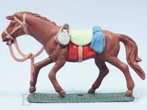 1. Brinquedos antigos - Casablanca e Gulliver - Cavalo de Cowboy marrom Ano 1986