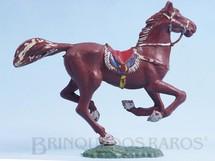 Brinquedos Antigos - Casablanca e Gulliver - Cavalo de Cowboy marrom Casablanca numerado 156