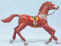 1. Brinquedos antigos - Casablanca e Gulliver - Cavalo de Cowboy Marrom claro