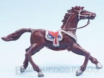 Brinquedos Antigos - Casablanca e Gulliver - Cavalo de Cowboy Marrom escuro