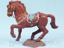 Brinquedos Antigos - Casablanca e Gulliver - Cavalo de Cowboy marrom S�rie Her�is D�cada de 1970