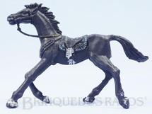 Brinquedos Antigos - Casablanca e Gulliver - Cavalo de Cowboy Preto