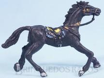 1. Brinquedos antigos - Casablanca e Gulliver - Cavalo de Cowboy Preto