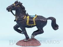 Brinquedos Antigos - Casablanca e Gulliver - Cavalo de Cowboy preto S�rie Her�is D�cada de 1970