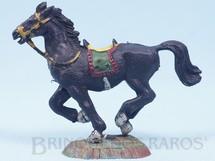 Brinquedos Antigos - Casablanca e Gulliver - Cavalo de Cowboy preto Série Heróis Década de 1970