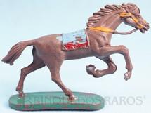 1. Brinquedos antigos - Casablanca e Gulliver - Cavalo Índio Série Forte Arizona Coleção Miguel Cerrato Década de 1970