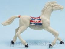 1. Brinquedos antigos - Casablanca e Gulliver - Cavalo índio branco
