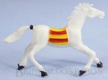 1. Brinquedos antigos - Casablanca e Gulliver - Cavalo índio branco Distribuído pela Trol e pela Viocena Década de 1970