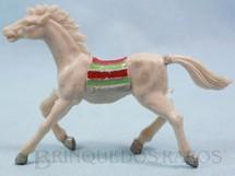 1. Brinquedos antigos - Casablanca e Gulliver - Cavalo índio cinza claro Casablanca numerado 10