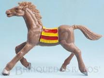 Brinquedos Antigos - Casablanca e Gulliver - Cavalo �ndio marrom acinzentado