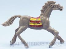 Brinquedos Antigos - Casablanca e Gulliver - Cavalo �ndio marrom acinzentado Numerado 3