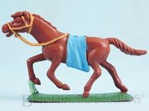 1. Brinquedos antigos - Casablanca e Gulliver - Cavalo índio marrom Ano 1986