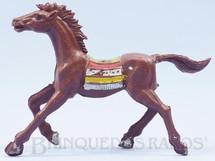 Brinquedos Antigos - Casablanca e Gulliver - Cavalo �ndio marrom claro