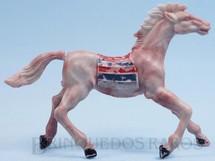 1. Brinquedos antigos - Casablanca e Gulliver - Cavalo Índio marrom malhado Década de 1960