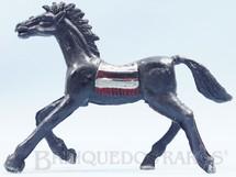 1. Brinquedos antigos - Casablanca e Gulliver - Cavalo índio preto