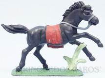 1. Brinquedos antigos - Casablanca e Gulliver - Cavalo índio preto Ano 1986