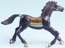 Brinquedos Antigos - Casablanca e Gulliver - Cavalo �ndio preto Distribu�do pela Trol e pela Viocena D�cada de 1970