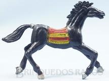 1. Brinquedos antigos - Casablanca e Gulliver - Cavalo índio preto Distribuído pela Trol e pela Viocena Década de 1970