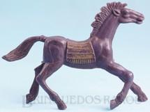 Brinquedos Antigos - Casablanca e Gulliver - Cavalo �ndio roxo Distribu�do pela Trol e pela Viocena D�cada de 1970