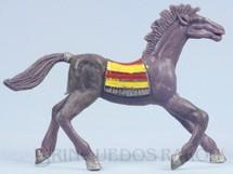 1. Brinquedos antigos - Casablanca e Gulliver - Cavalo índio roxo Distribuído pela Trol e pela Viocena Década de 1970