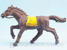 1. Brinquedos antigos - Casablanca e Gulliver - Cavalo Índio Série Planície Selvagem Coleção Miguel Cerrato Década de 1970