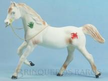 1. Brinquedos antigos - Casablanca e Gulliver - Série Super Amigos Cavalo Índio com 23,00 cm de altura Perfeito estado Ano 1977