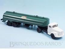 1. Brinquedos antigos - Juê - Cavalo Mecânico Scania Vabis L111 com carreta Texaco