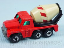 Brinquedos Antigos - Matchbox - Cement Truck Superfast Grey Barrel