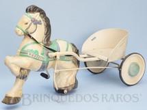 1. Brinquedos antigos - David Sebel Co Ltd - Charrete Mobo Pony Express com 83,00 cm de comprimento Ano 1955