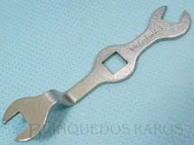 1. Brinquedos antigos - Estrela - Chave de Boca para Conjuntos Mec-Bras com 7,00 cm de comprimento Década de 1960