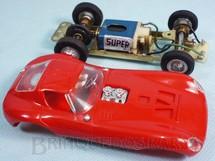 1. Brinquedos antigos - Estrela - Cheetah GT vermelha com chassi de latão 100% original Perfeito estado Ano 1967