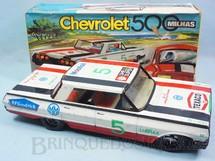 1. Brinquedos antigos - Metalma - Chevrolet Impala Versão 500 Milhas com 35,00 cm de comprimento Década de 1970
