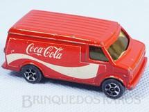 1. Brinquedos antigos - Corgi Toys-Kiko - Chevrolet Van Coca Cola Brazilian Corgi Jr Kiko Década de 1980