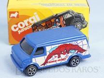 1. Brinquedos antigos - Corgi Toys-Kiko - Chevrolet Van Homem Aranha Brazilian Corgi Jr Kiko Década de 1980