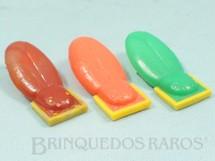 1. Brinquedos antigos - Beija Flôr - Cigarras Tic Tac com 5,00 cm de comprimento Década de 1960