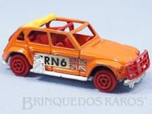 1. Brinquedos antigos - Majorette-Kiko - Citroen 2 CV Dyane Adhésif Aéroglisseur de Matchbox Majorette Brésilien Kiko Década de 1980