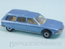 Brinquedos Antigos - Matchbox - Citroen CX Superfast azul metálico