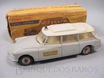 1. Brinquedos antigos - Dinky Toys - Citroen ID19 Ambulance Municipale Década de 1960