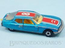 1. Brinquedos antigos - Matchbox - Citroen SM Superfast azul metálico numero 8