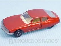 Brinquedos Antigos - Matchbox - Citroen SM Superfast laranja metálico