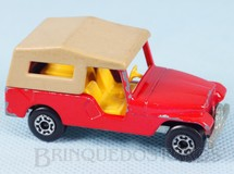 Brinquedos Antigos - Matchbox - CJ6 Jeep Willys Superfast