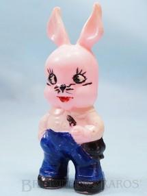 1. Brinquedos antigos - Balila - Coelhinho Aluno do Conjunto Escolinha do Professor Coelho com 10,00 cm de altura Década de 1960