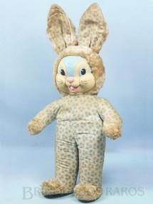 1. Brinquedos antigos - Estrela - Coelho com 42,00 cm de altura Rosto de Vinil e Corpo em tecido com detalhes em astracam  Ano 1962