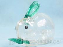 1. Brinquedos antigos - Balila - Coelho com Cenoura 14,00 cm de comprimento Plástico transparente Embalagem de doces Década de 1960