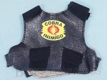 1. Brinquedos antigos - Estrela - Colete Dragão Negro Cobra Inimigo Série Clássicos Falcon Edição 1994