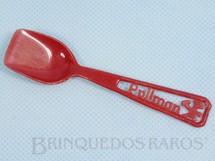 1. Brinquedos antigos - Sem identificação - Colher com 10,00 cm de comprimento Brinde Bolo Pullman Década de 1960