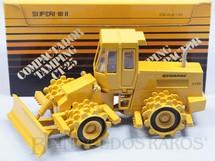 1. Brinquedos antigos - Arpra - Rolo Compactador Tamping Dynapac CT-25 Década de 1980